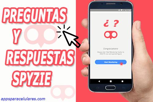 preguntas y respuestas sobre spyzie en español