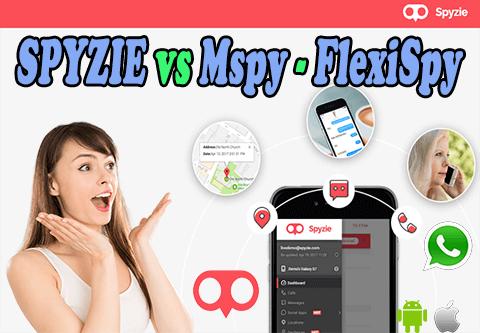 Spyzie vs Mspy y Flexispy